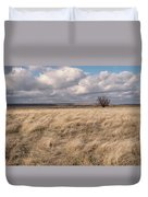 Autumn In The Steppes Duvet Cover