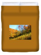 Autumn In The Tennessee Hills Duvet Cover