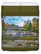 Autumn In The White Mountains Duvet Cover