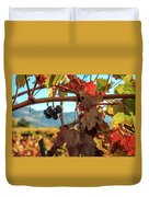 Autumn In The Wine Country Duvet Cover