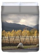 Autumn In The Winelands Duvet Cover