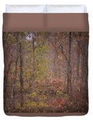 autumn In The Woos Duvet Cover