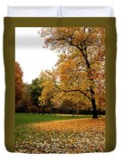Autumn In Turin, Italy Duvet Cover