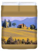 Autumn In Tuscany Duvet Cover