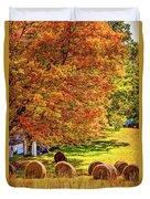 Autumn In West Virginia Duvet Cover