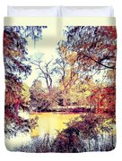 Autumn Island Duvet Cover