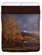 Autumn Landscape Near Telluride Duvet Cover