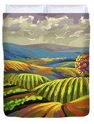 Autumn Lanscape Duvet Cover