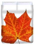 Autumn Leaf 3 Duvet Cover