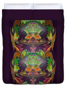 Autumn Leaf Delight Duvet Cover
