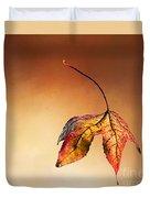 Autumn Leaf Fallen Duvet Cover