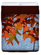 Autumn Leaves 20 Duvet Cover