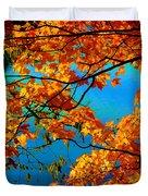 Autumn Leaves 7 Duvet Cover