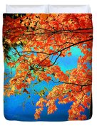 Autumn Leaves 8 Duvet Cover