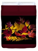 Autumn Leaves Duvet Cover by Barry C Donovan