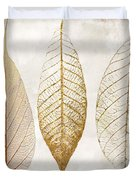 Autumn Leaves IIi Fallen Gold Duvet Cover