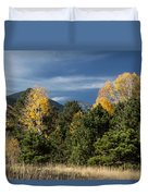 Autumn Leaves In Hart Prairie Duvet Cover