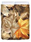 Autumn Leaves Series 2 Duvet Cover