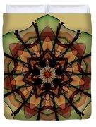 Autumn Mandala Duvet Cover
