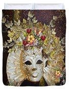 Autumn Mask Duvet Cover