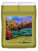 Autumn Meadow Duvet Cover