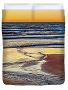 Autumn Merging - Sauble Beach 6 Duvet Cover