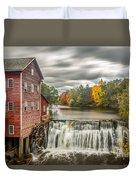 Autumn Mill Duvet Cover