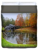 Autumn Mill Duvet Cover