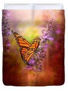 Autumn Monarch Duvet Cover