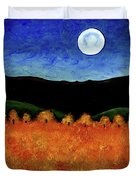 Autumn Moon I Duvet Cover