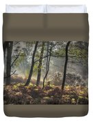 Autumn Morning Duvet Cover