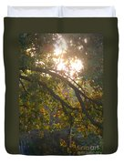 Autumn Morning Glow Duvet Cover