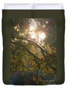 Autumn Morning Glow Duvet Cover
