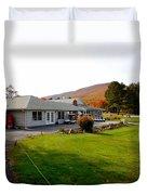 Autumn Mountain Golf Course 6 Duvet Cover