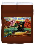Autumn Music Duvet Cover