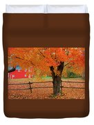 Autumn Near New Germany, Nova Scotia Duvet Cover