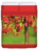 Autumn Oak Tree Duvet Cover