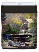 Autumn On Glade Creek Duvet Cover