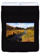Autumn On Jackfish Creek Duvet Cover