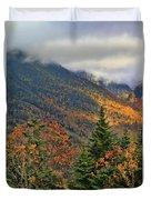 Autumn On Mount Mansfield Vermont Duvet Cover