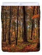 Autumn On The Ice Age Trail Duvet Cover