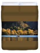 Autumn On The Lake Duvet Cover