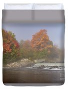 Autumn On The Moose II Duvet Cover