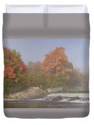 Autumn On The Moose Duvet Cover