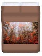 Autumn On The Mountain Duvet Cover