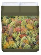 Autumn Palette Duvet Cover
