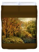 Autumn Palette Duvet Cover