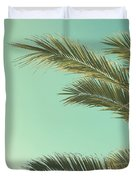 Autumn Palms II Duvet Cover
