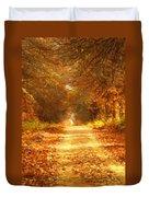 Autumn Paradisium Duvet Cover