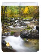 Autumn Passing Duvet Cover